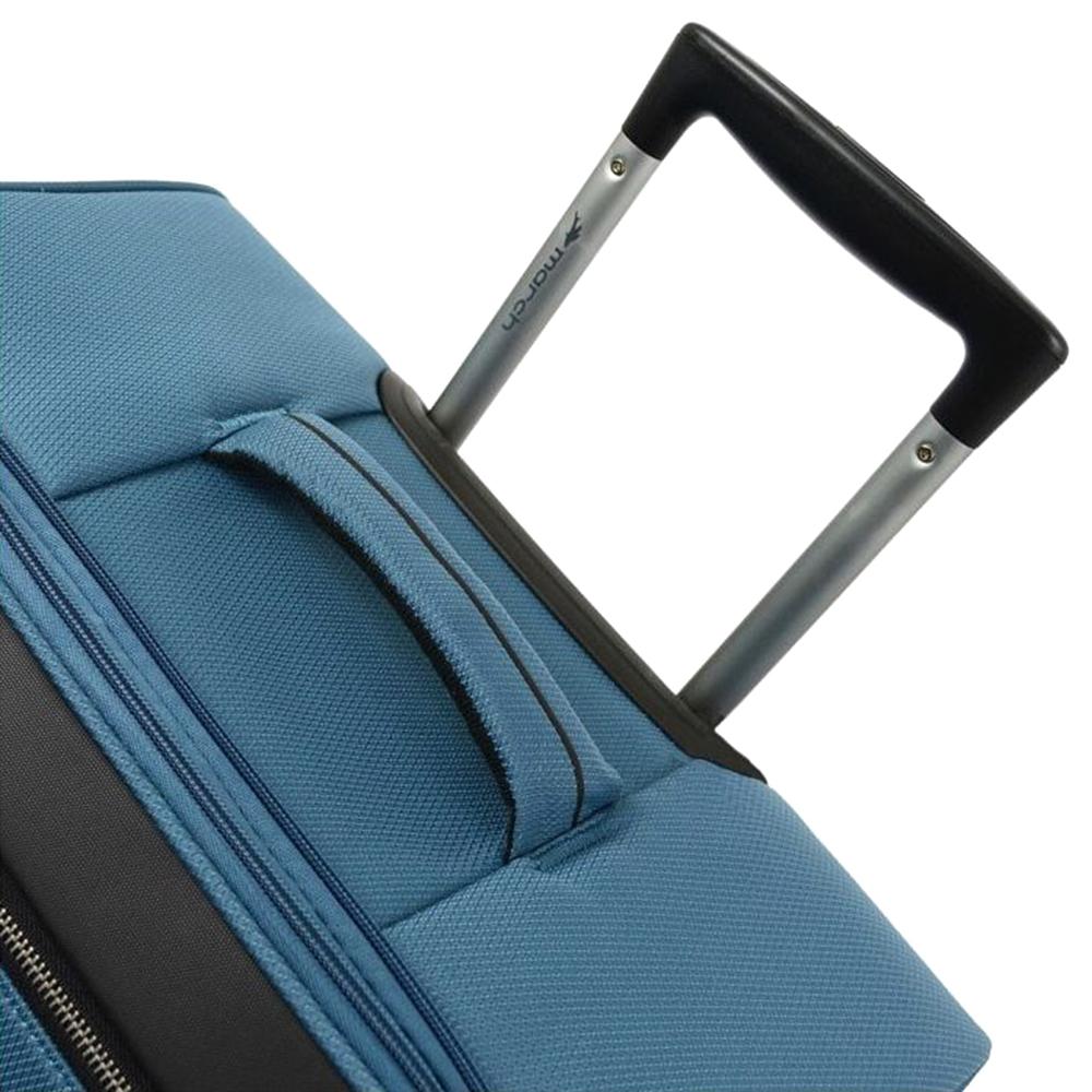 Голубой маленький чемодан 55х35х20см March Flybird с 4х колесной системой