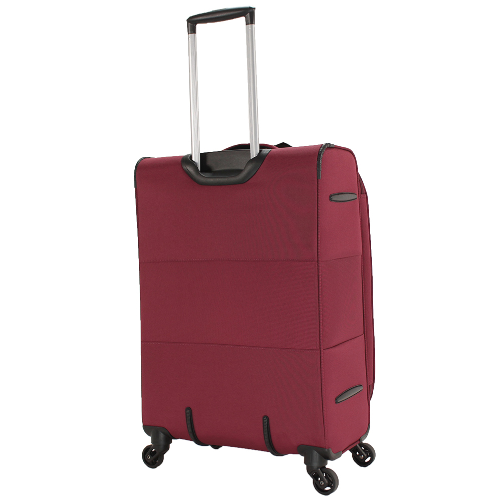 Набор чемоданов March Focus в бордовом цвете