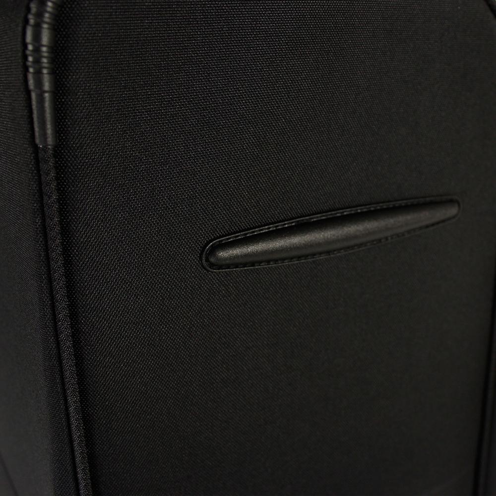 Набор чемоданов March Focus с корпусом черного цвета