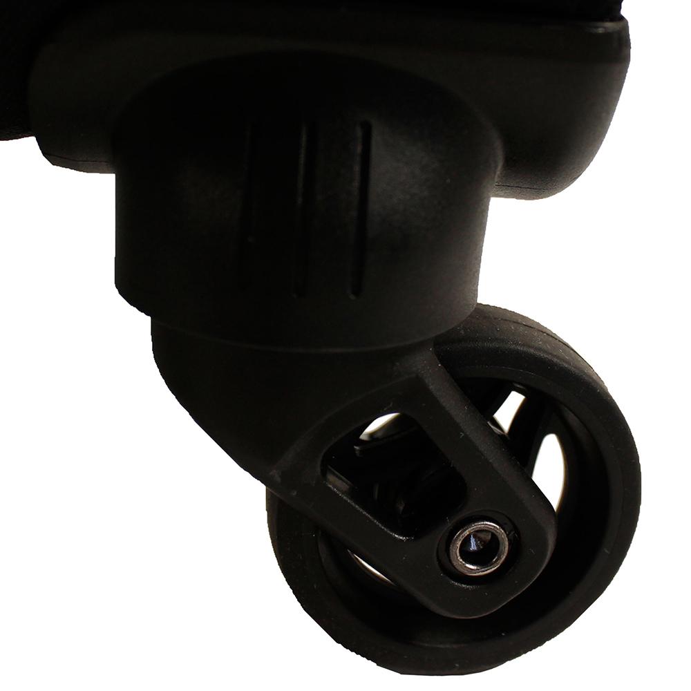 Большой чемодан 77х47х29см March Focus с корпусом черного цвета