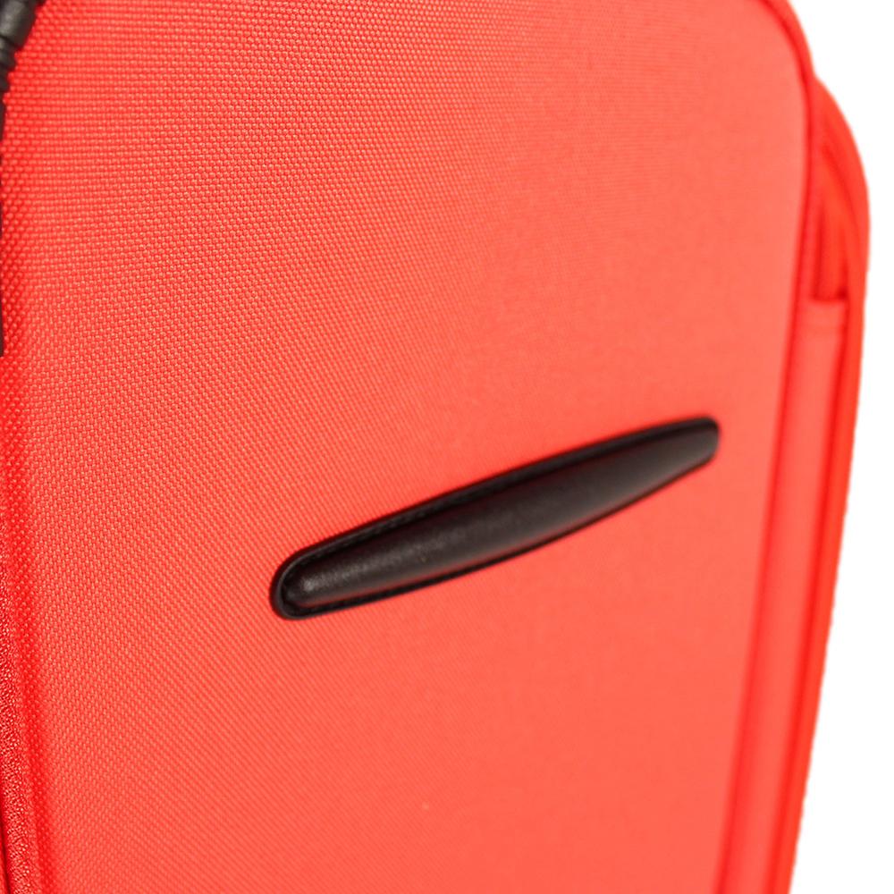 Среднего размера чемодан 67x43x26см March Focus с корпусом красного цвета