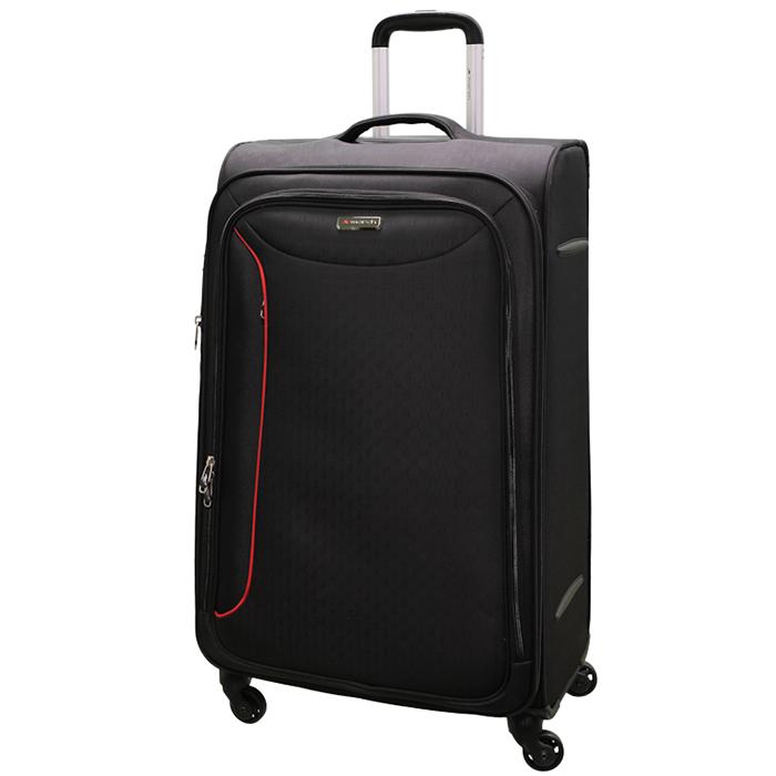 Большой чемодан 78х47х29см March Delta с корпусом черного цвета