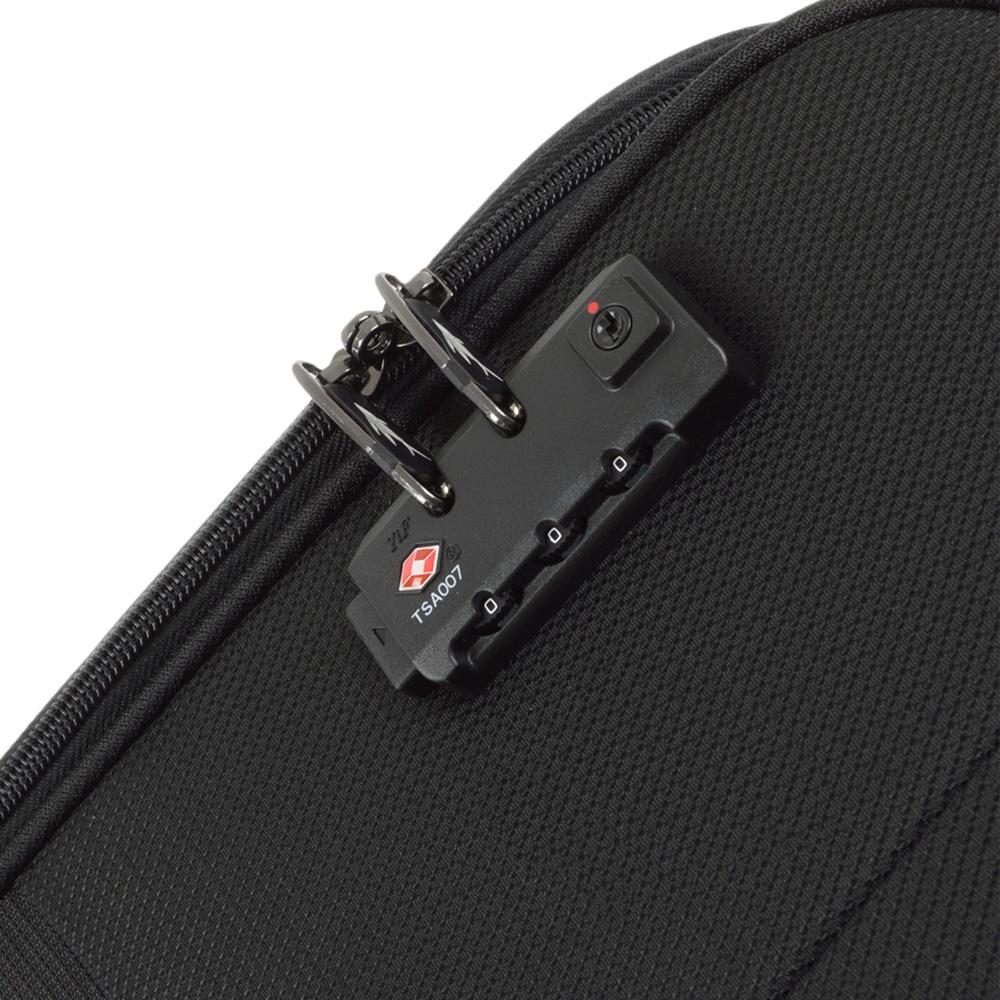 Черный чемодан 67x42x27см March Lite среднего размера