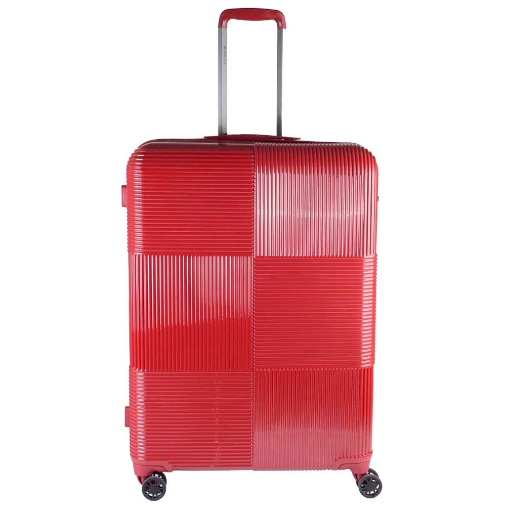 Набор чемоданов March Avenue с корпусом красного цвета