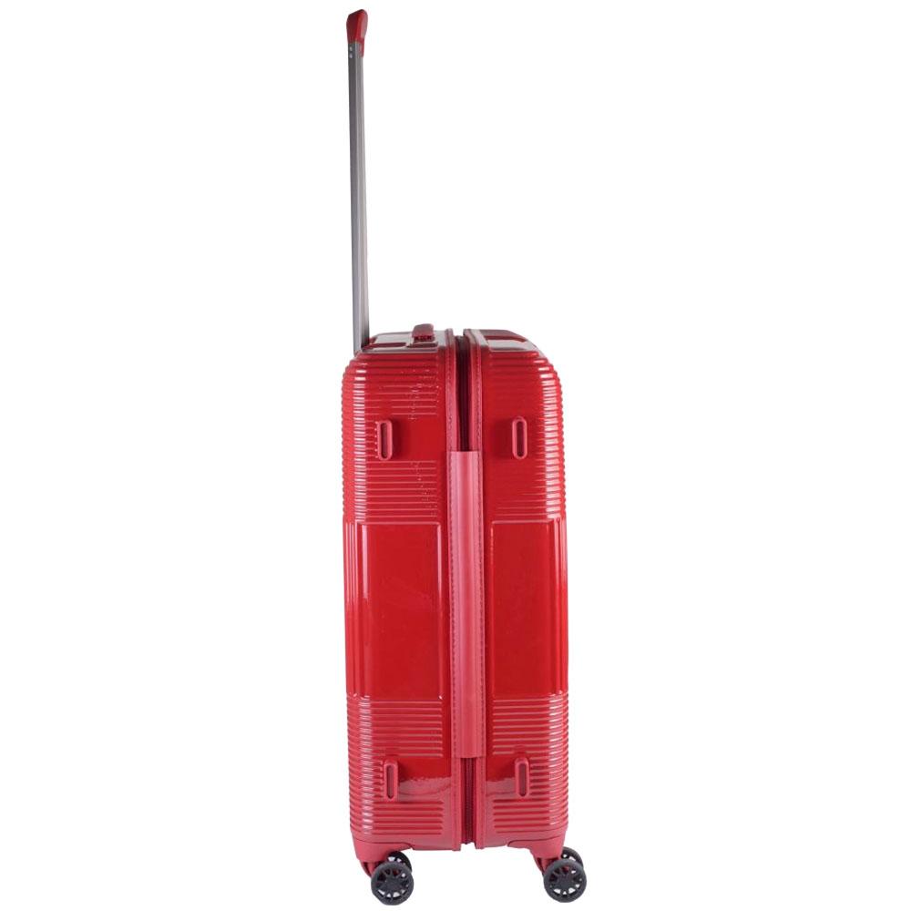 Чемодан среднего размера 66x25x46см March Avenue в красном цвете для путешествий