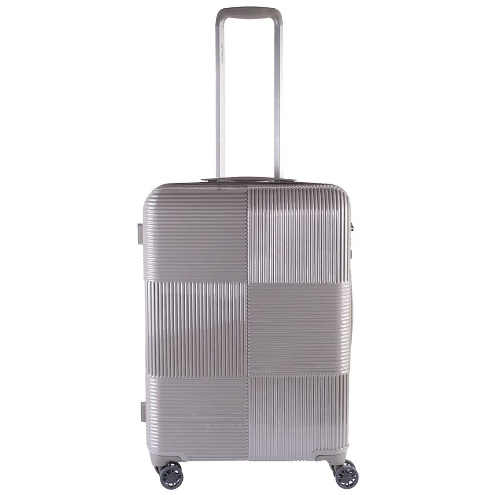 Чемодан бежевого цвета 66x25x46см March Avenue среднего размера с замком блокировки TSA