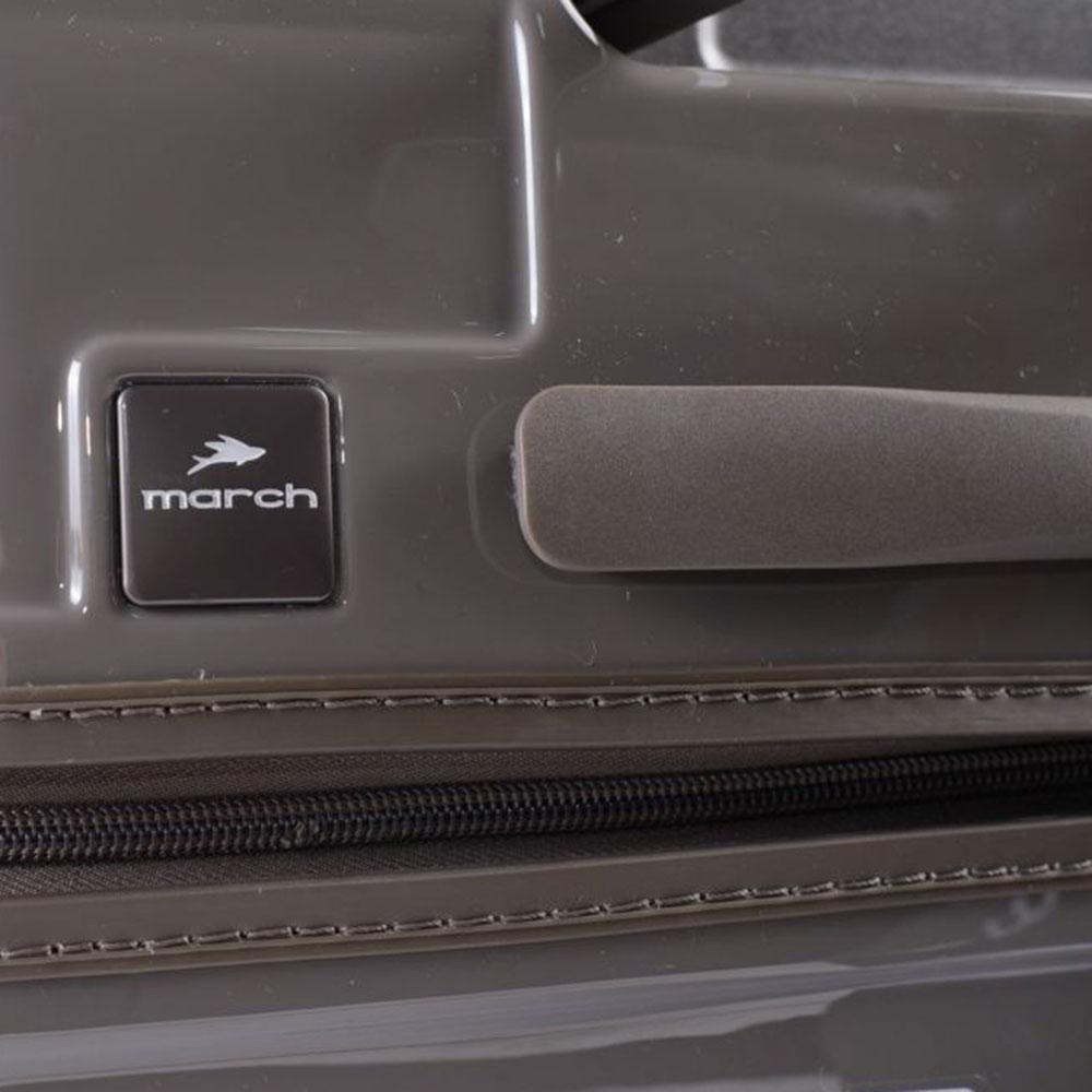 Маленький чемодан 55х35х21,5см March Avenue с корпусом бежевого цвета
