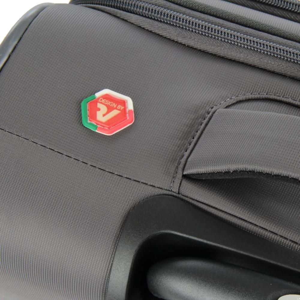 Чемодан размера ручной клади 55х40х20см Roncato Roma с кодовым замком TSA