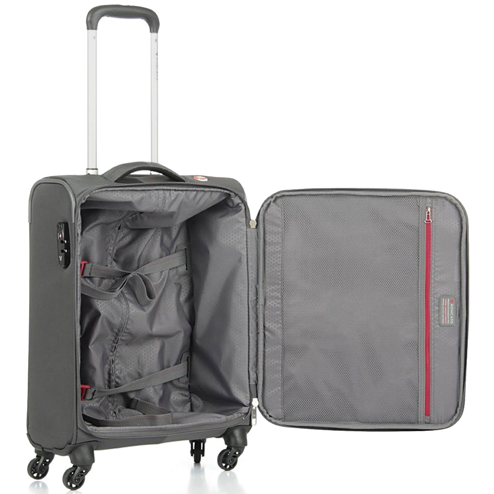 Маленький дорожный чемодан 55х40х20см Roncato Roma с замком блокировки TSA