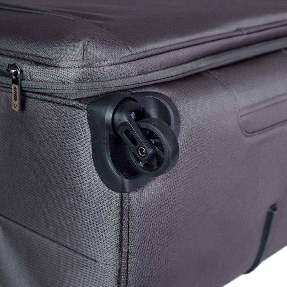 Дорожный коричневый чемодан 78х50х33-37см Roncato Tribe большого размера