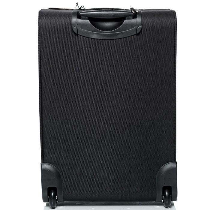 Черный чемодан большого размера 73х46х30см Modo by Roncato Cloud Young из нейлона