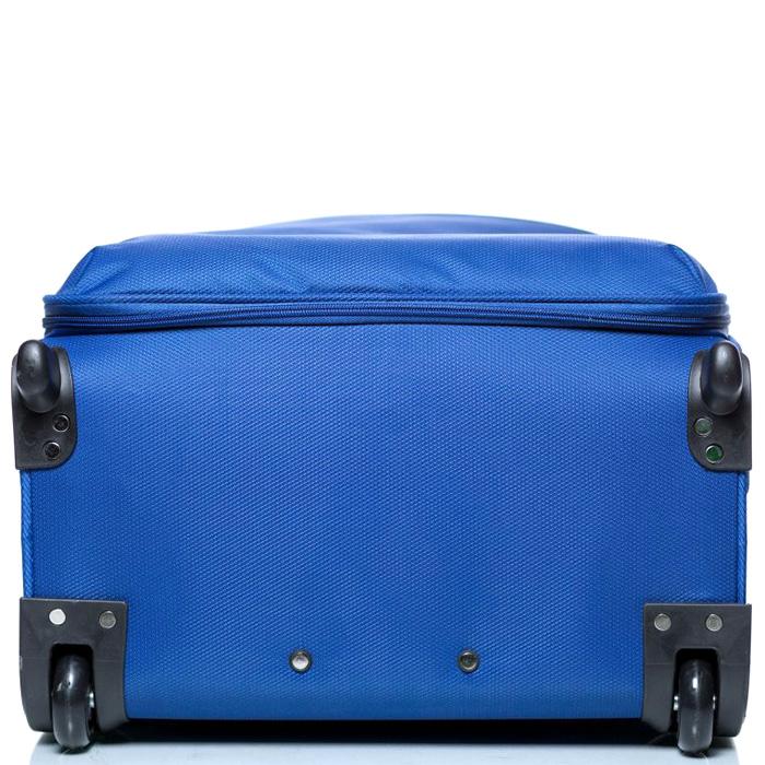 Чемодан синего цвета 73х46х30см Modo by Roncato Cloud Young большого размера на молнии