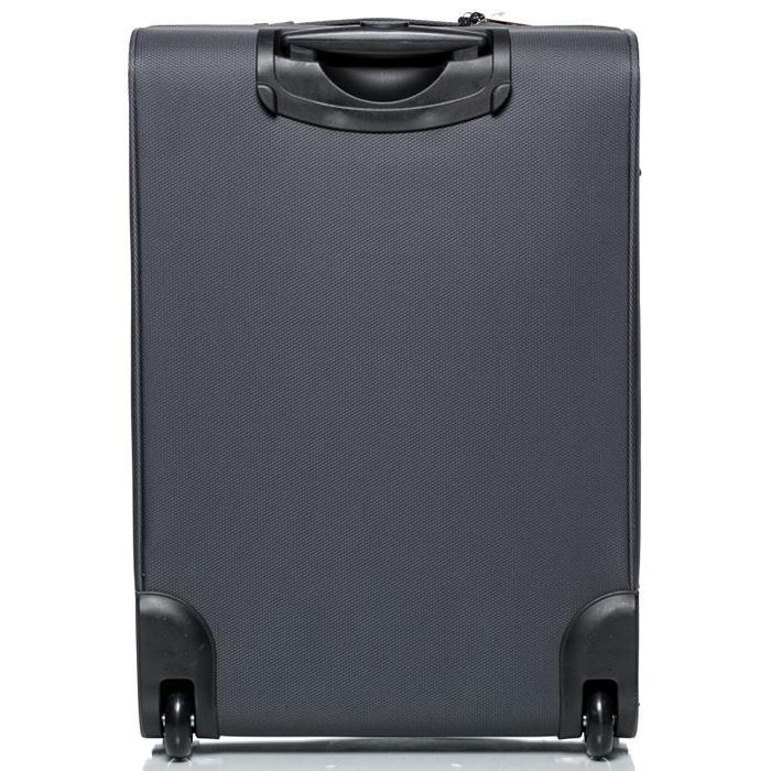 Большой чемодан 73х46х30см Modo by Roncato Cloud Young антрацитового цвета на молнии