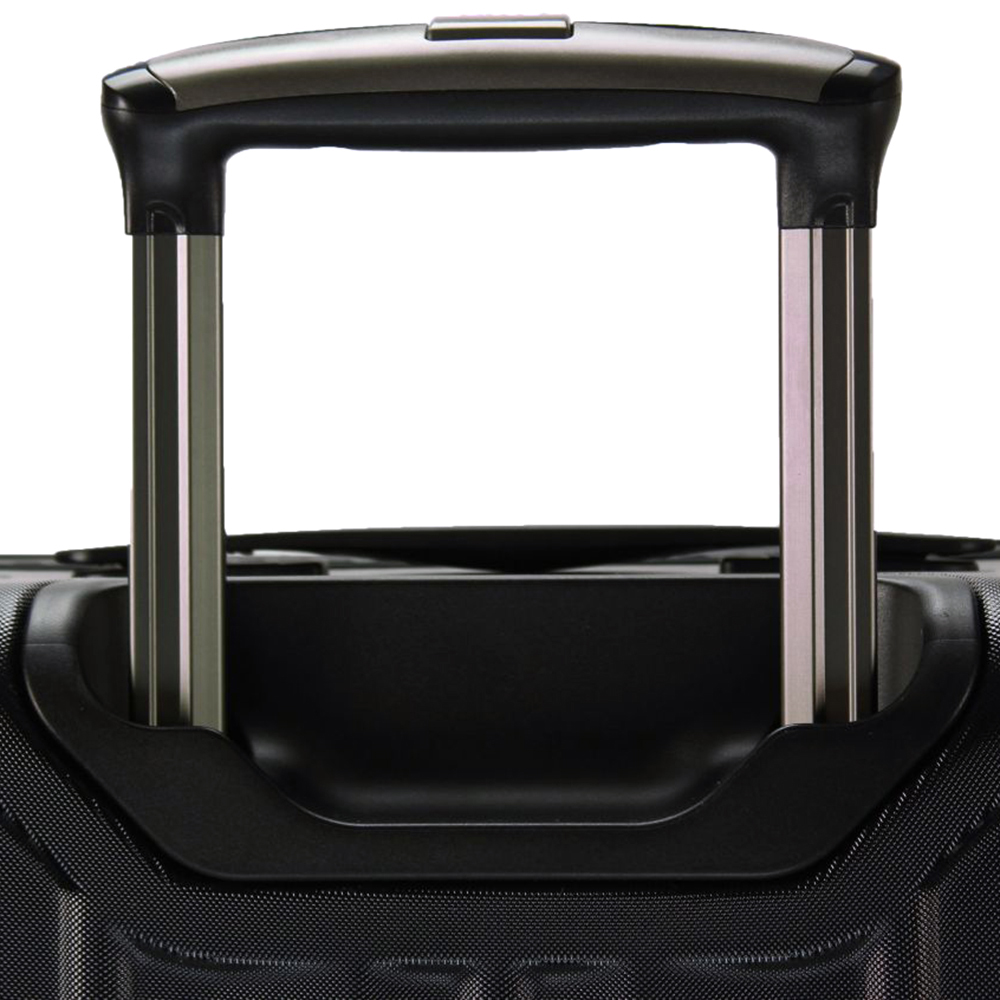 Набор черный чемоданов March Cosmopolitan с замком блокировки TSA