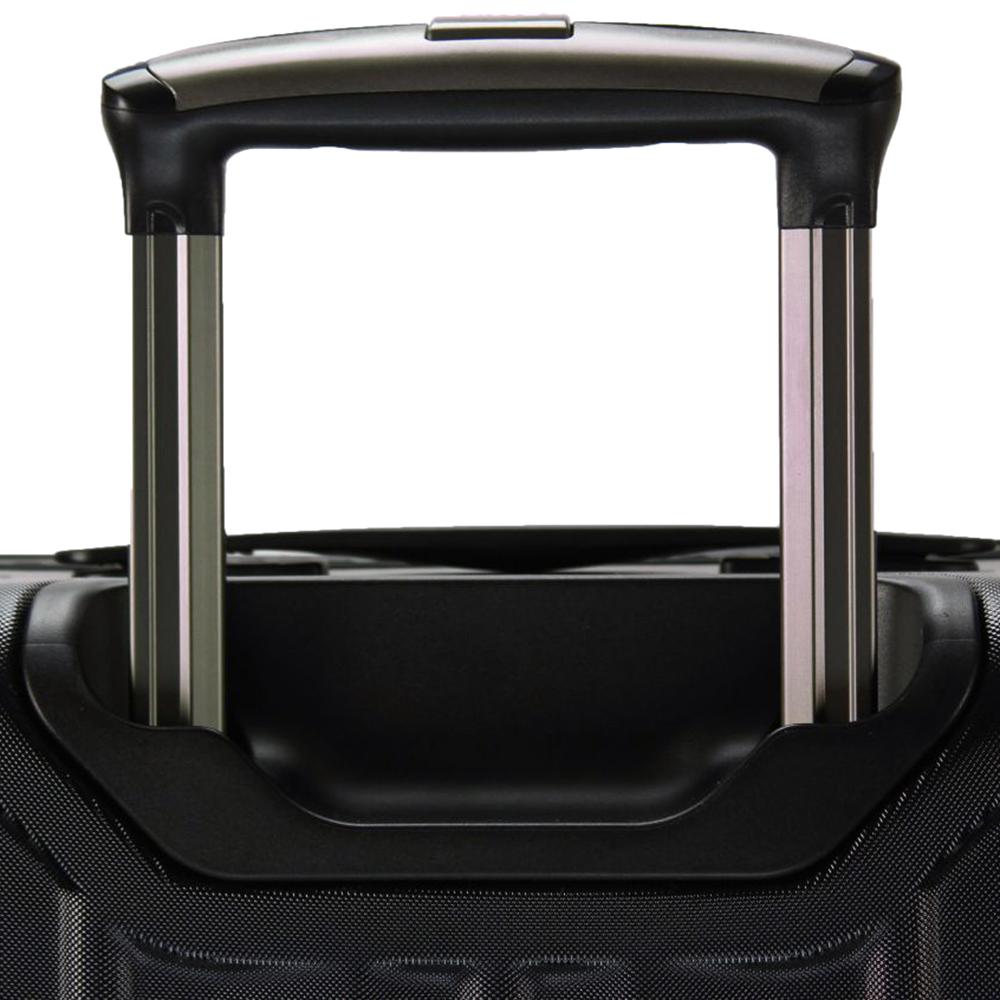 Чемодан серого цвета 66x46x25см March Cosmopolitan среднего размера из поликарбоната