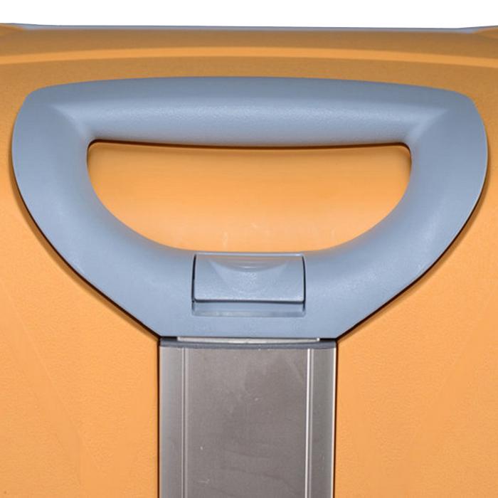 Набор чемоданов желтого цвета Roncato Light с 4х колесной системой