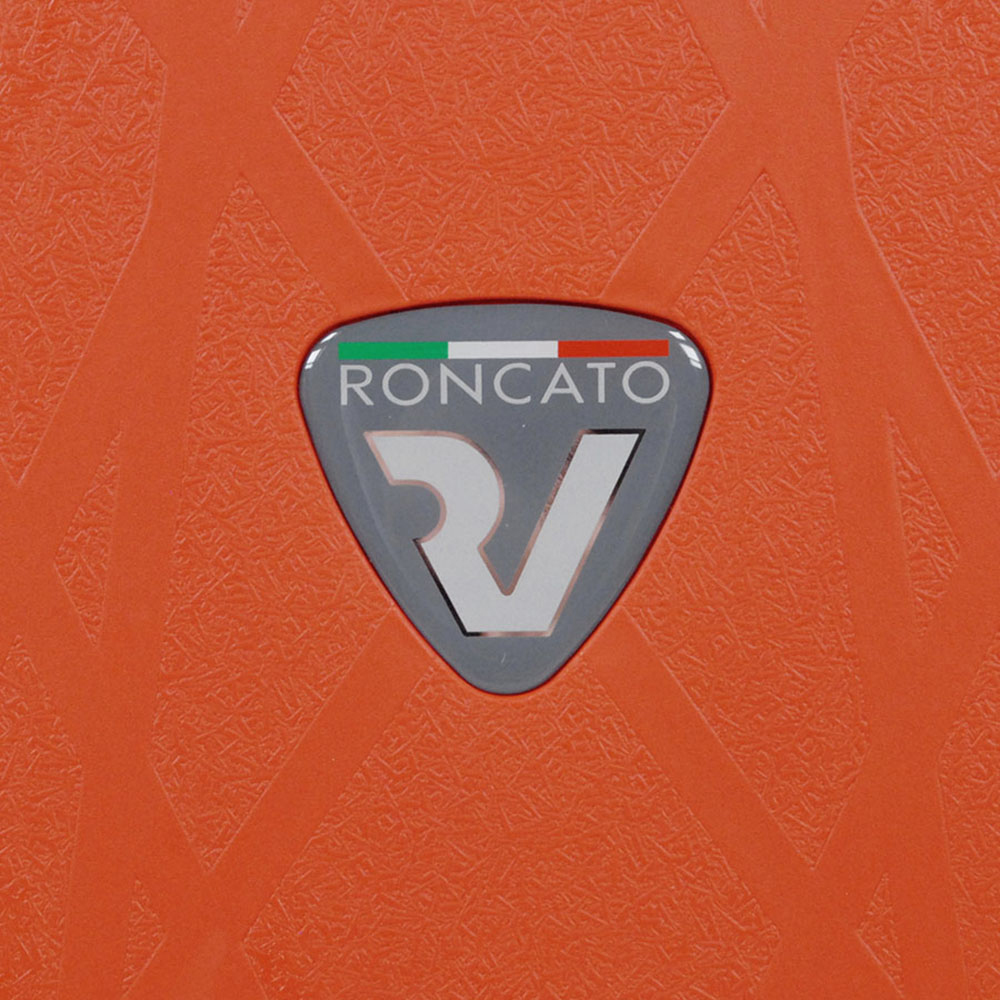 Набор чемоданов Roncato Light в оранжевом цвете