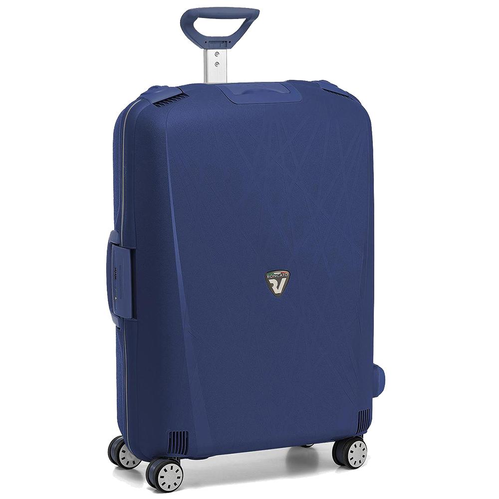 Набор синих чемоданов Roncato Light с кодовым замком TSA