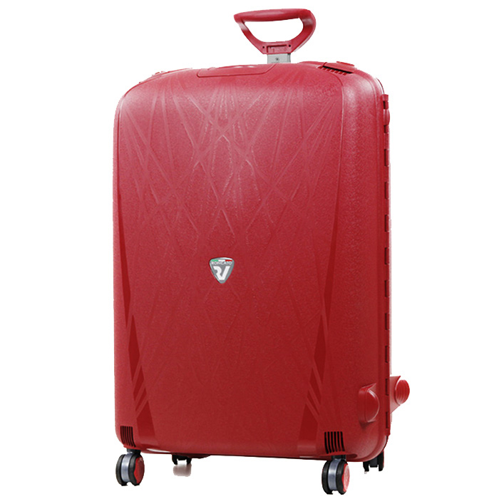 Большой красный чемодан 75х53х30см Roncato Light с кодовой блокировкой TSA