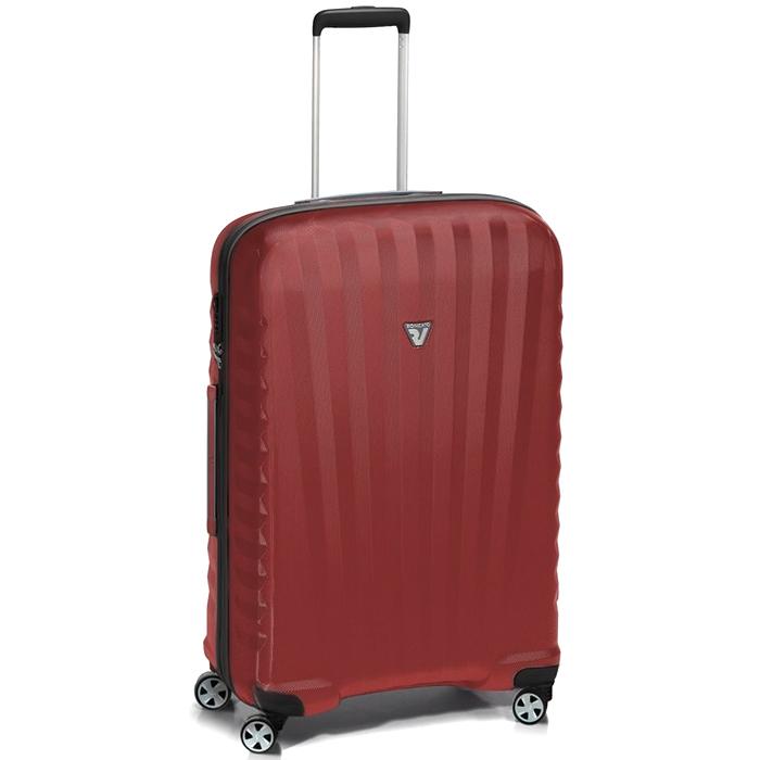 Красный чемодан 71x46x24см Roncato Uno ZSL Premium среднего размера