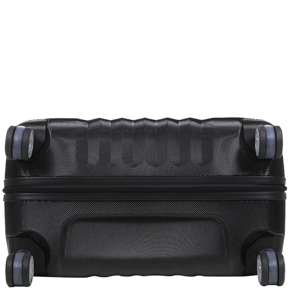 Большой чемодан 76х47х26см Roncato Uno ZSL Premium в черном цвете