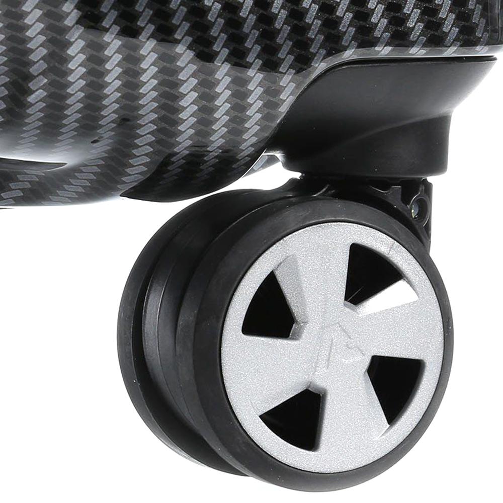 Чемодан серого цвета 71x46x24см Roncato Uno Zip Deluxe Limited Edition среднего размера