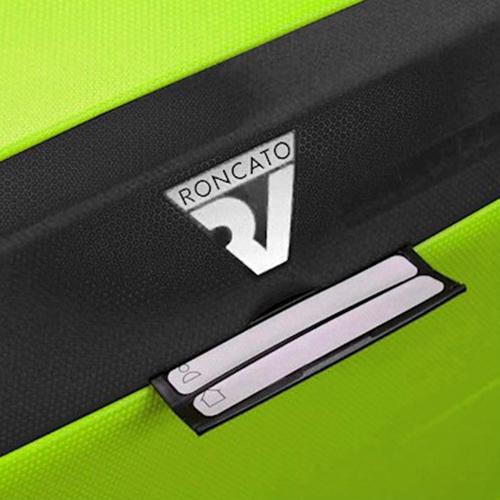 Набор чемоданов Roncato Box с корпусом из полипропилена салатового цвета