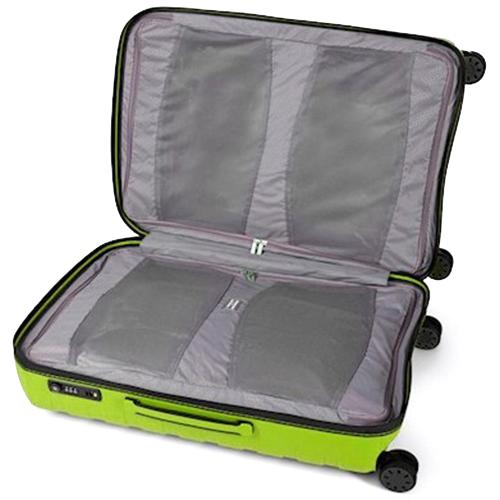 Набор чемоданов салатового цвета Roncato Box для путешествий