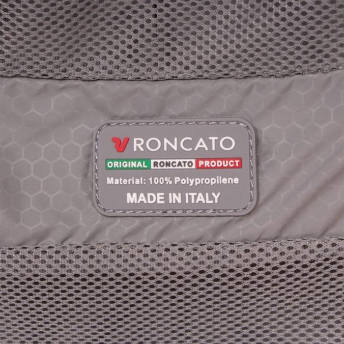 Набор чемоданов черного цвета Roncato Box с 4х колесной системой
