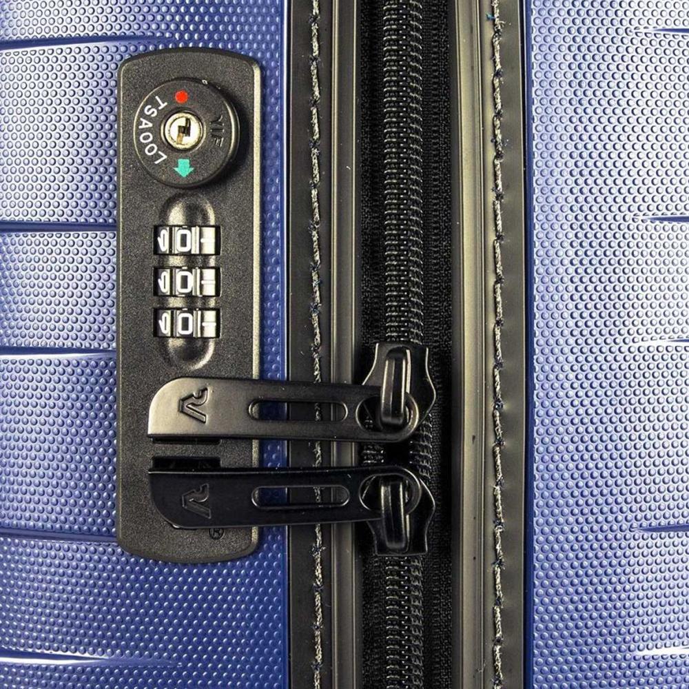 Чемодан 55х40х20см Roncato Box 2.0 из полипропилена с 4х колесной системой