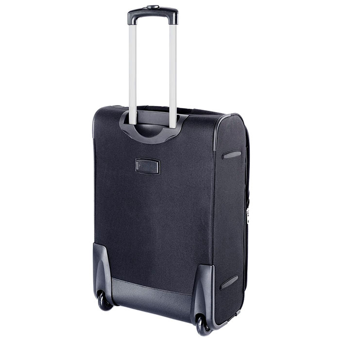 Черный чемодан 63x41x27см Puccini Camerino среднего размера для путешествий