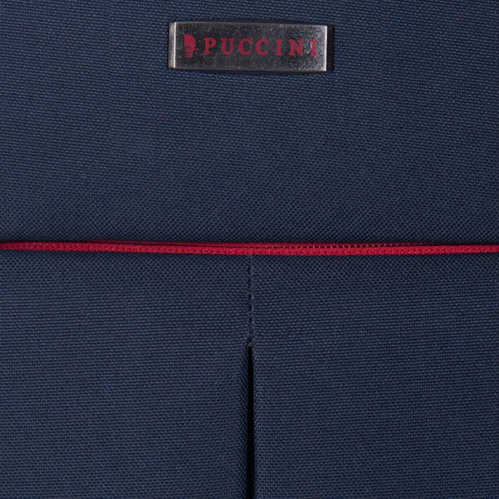 Чемодан маленького размера 52х36х20см Puccini Latina в синемцвете
