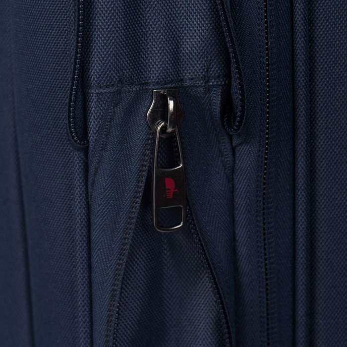 Синий среднего размера чемодан 63x41x27-32см Puccini Latina с 2х колесной системой