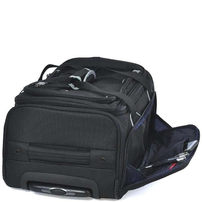 Набор чемоданов черного цвета March Gogobag из нейлона на 2х колесах