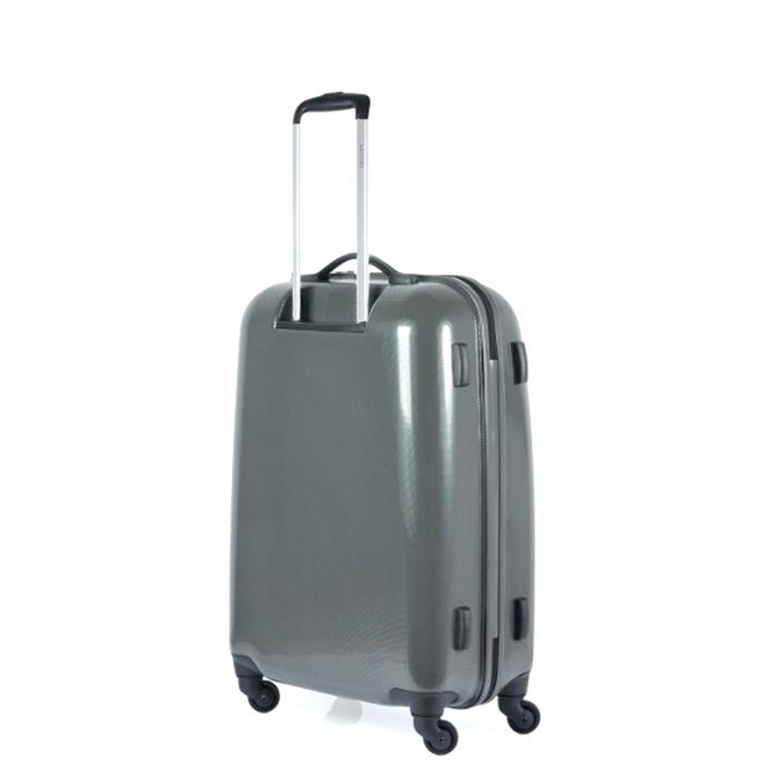 Чемодан цвета антрацит 68x44x26см Puccini PC005 среднего размера для путешествий