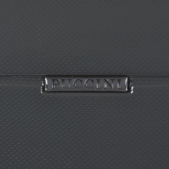Чемодан очень большого размера 80x51x29см Puccini PC005 с корпусом цвета антрацит