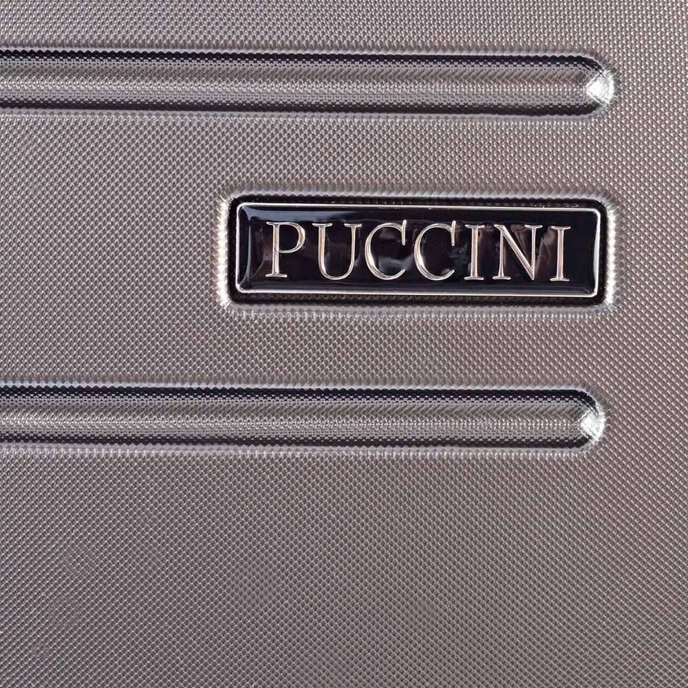 Большой чемодан цвета антрацит 79x53x33см Puccini PC016 для путешествий