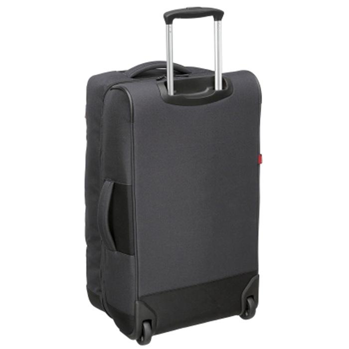 Серый чемодан среднего размера 66x26x38см Hedgren Escapade для путешествий