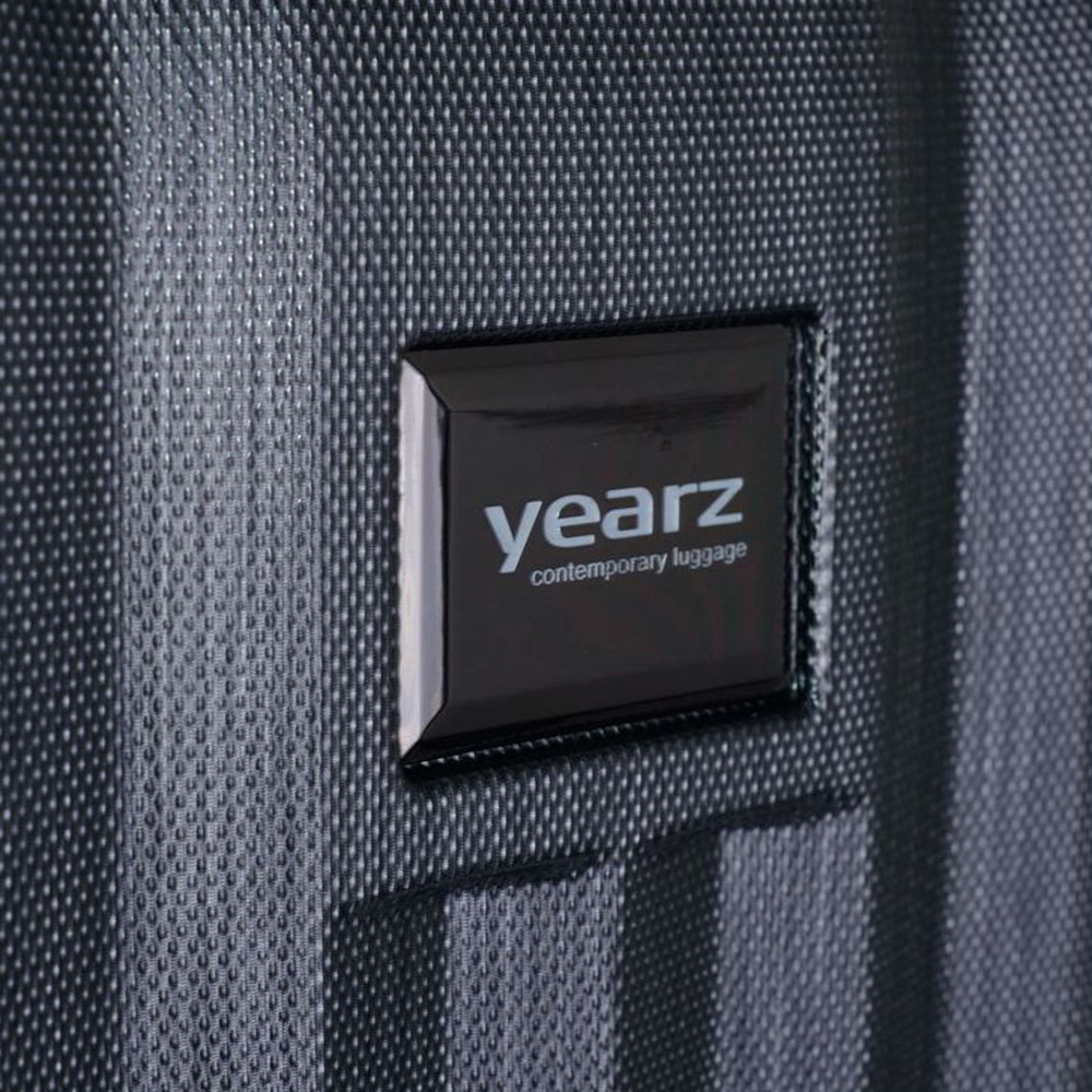Большой серый чемодан 75х30х47см March Fly с замком блокировки TSA