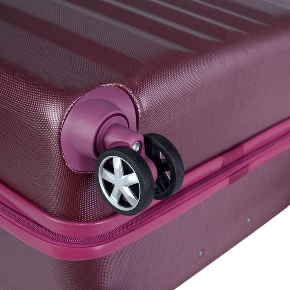 Среднего размера розовый чемодан 65x26x40см March Fly с телескопической ручкой