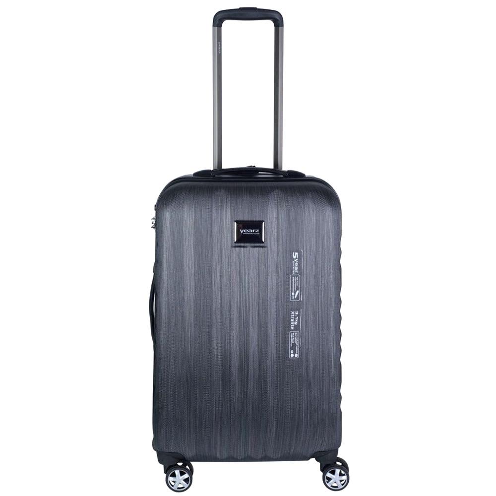 Среднего размера серый чемодан 65x26x40см March Fly на молнии