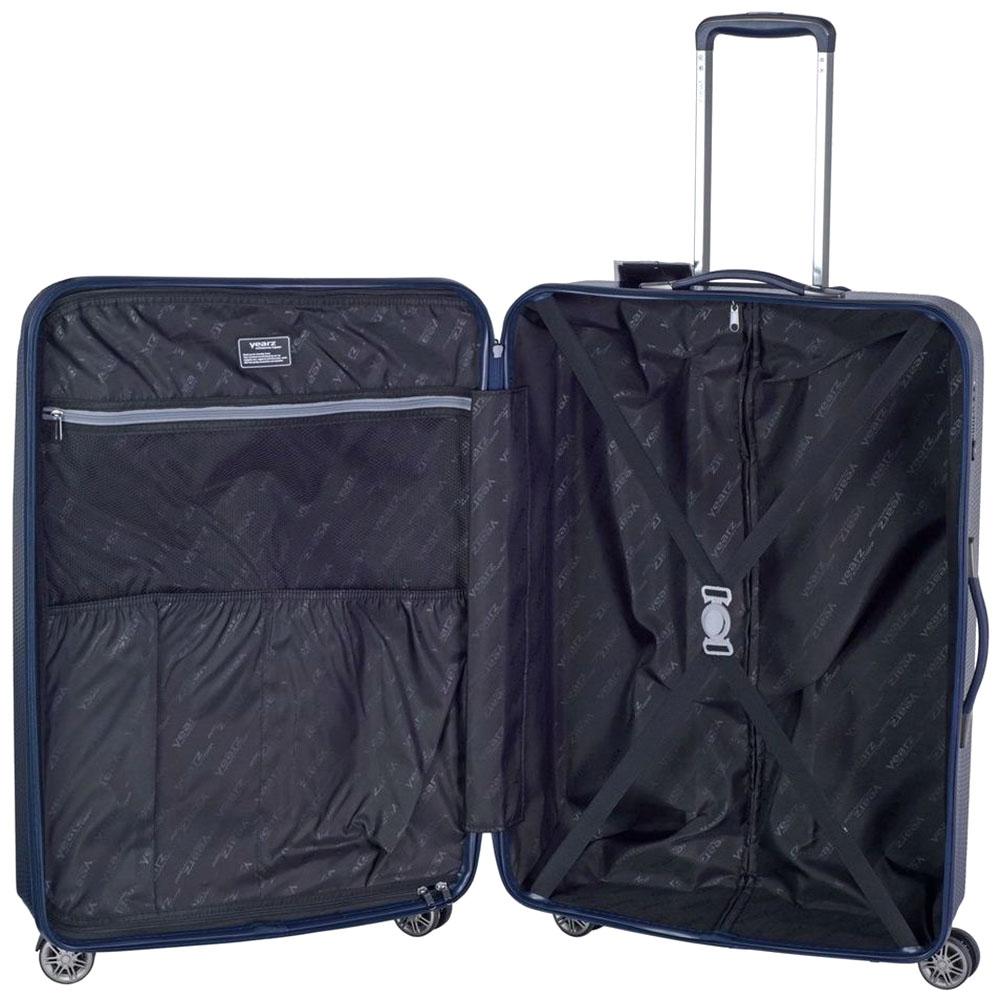 Среднего размера cиний чемодан 68x26x46см March Jersey для путешествий