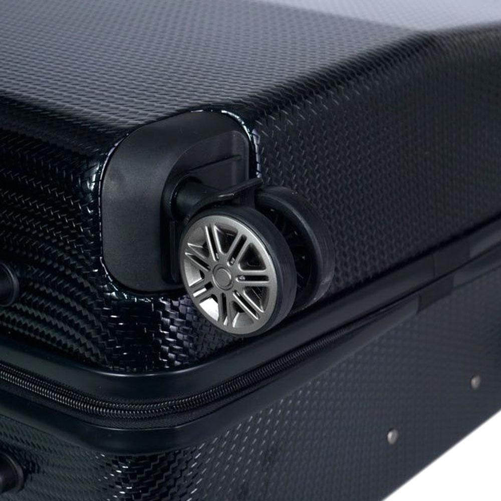 Чемодан среднего размера 68x26x46см March Jersey с черным корпусом