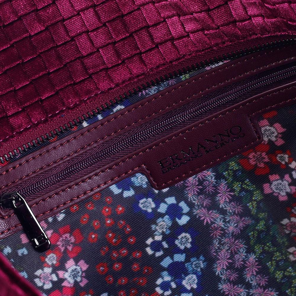Дорожная сумка Ermanno Scervino Daria с эффектом плетения