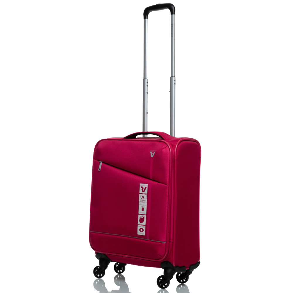 Дорожный чемодан 55х35х20см Roncato Jazz маленького размера