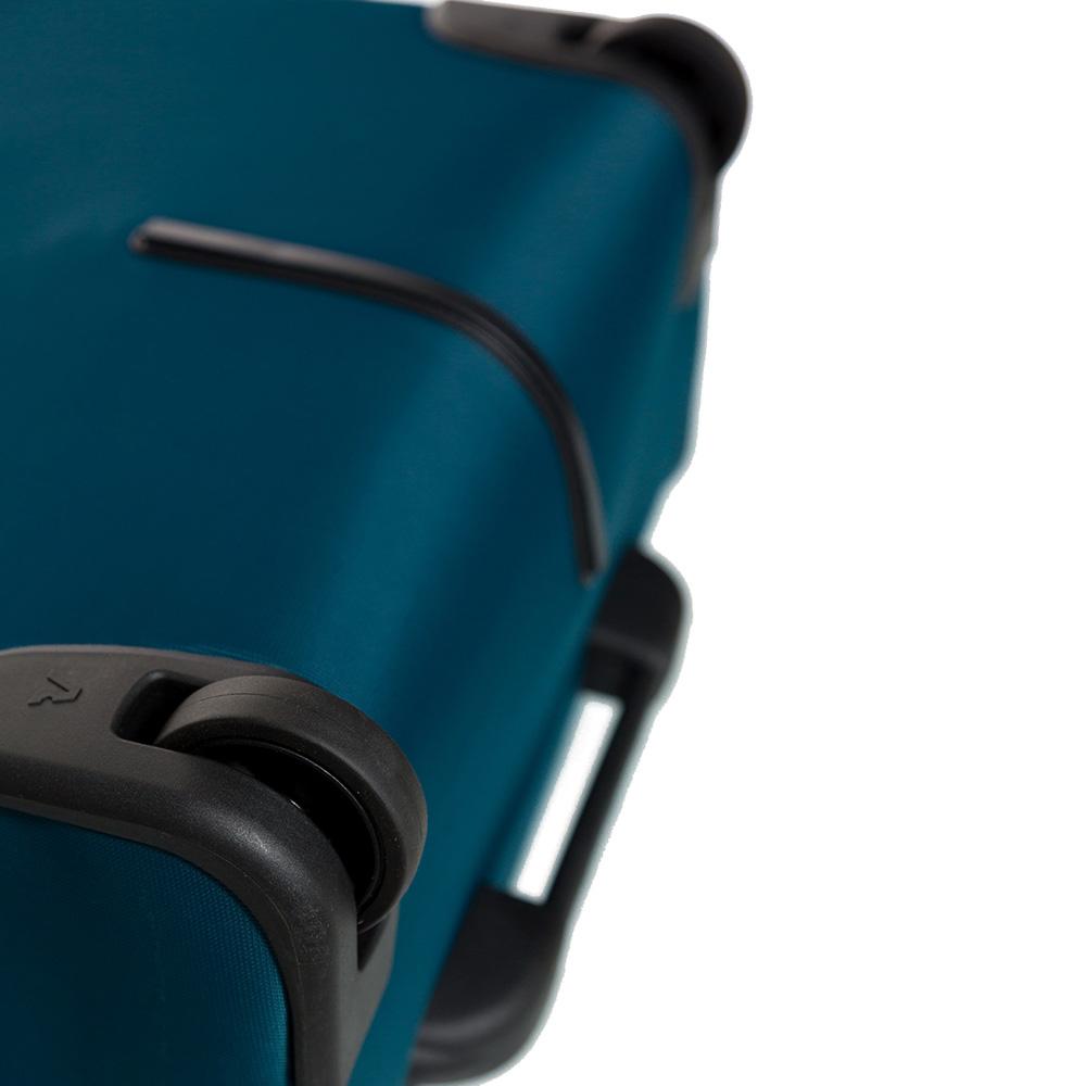 Большой дорожный чемодан 78х48х29-32см Roncato Speed синего цвета
