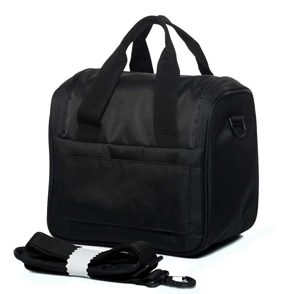 Дорожная косметичка для одежды 26х27х19см Roncato Speed черного цвета