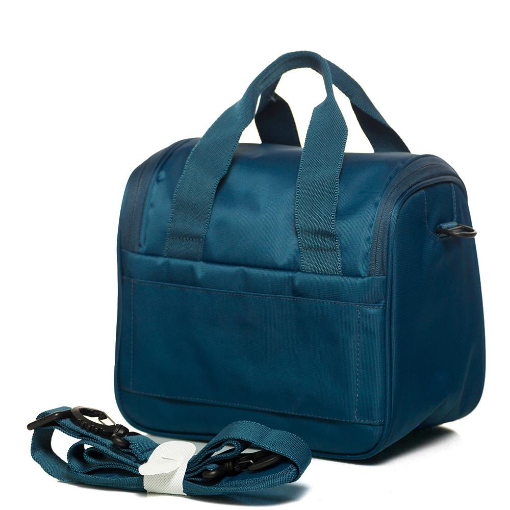 Дорожная косметичка для одежды 26х27х19см Roncato Speed синего цвета