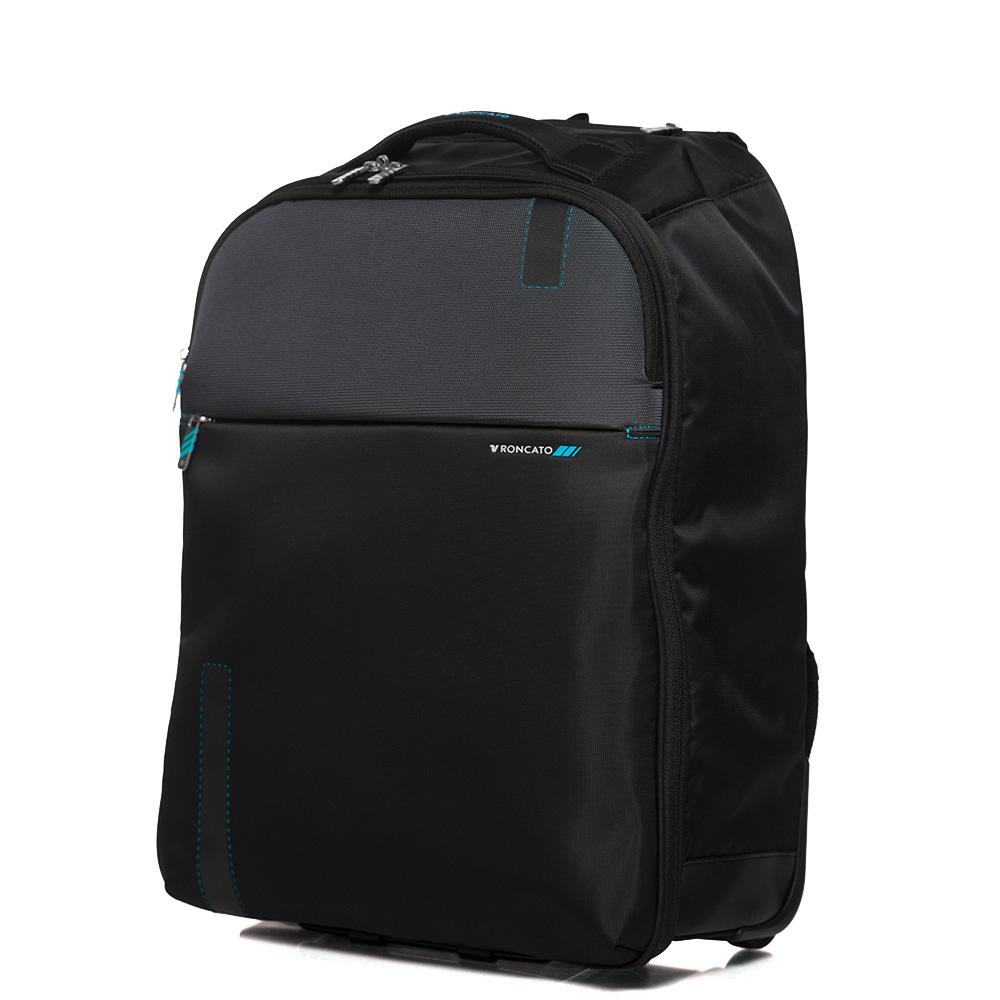 Дорожный рюкзак 55x40x20см Roncato Speed черного цвета