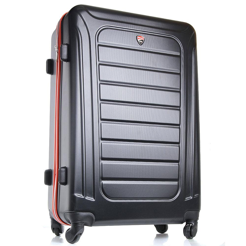 Средний чемодан 57x40x22см Ducati черного цвета